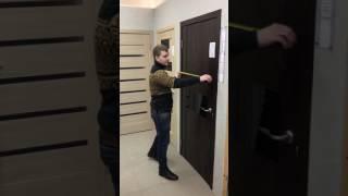 как правильно сделать замер двери
