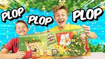 CHIPS ALARM 💥 Wir ploppen den Pringles Adventskalender 2018 😁 TipTapTube Family 👨👩👦👦