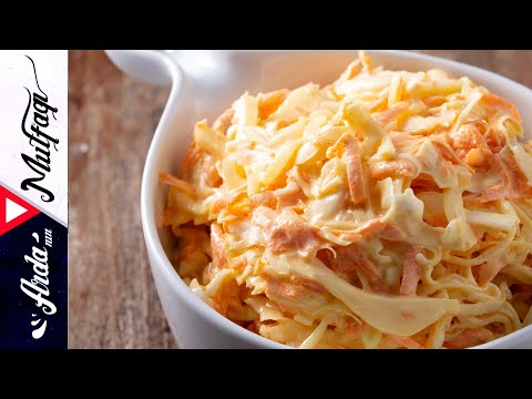 Coleslaw Salata I Lahana Salatası I Arda'nın Mutfağı