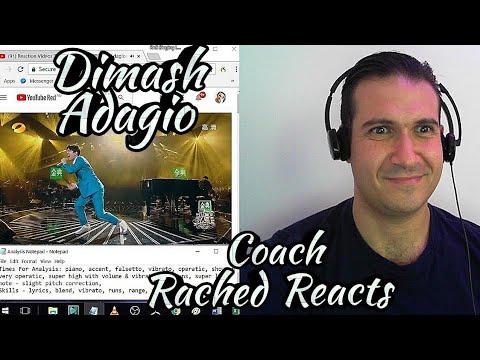 Teacher Reaction + Analysis - Dimash - Adagio