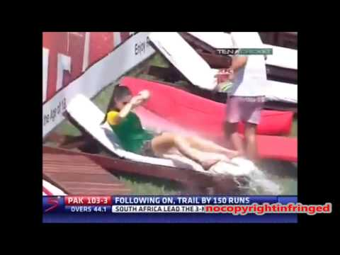 Prank on Hot Girl on live TV in Cricket Ground nocopyrightinfringed