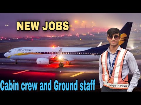 Jet Airways NEW JOBS 🙏 Cabin Crew and Ground staff | Airline VACANCIES | INTERVIEW | Salary |