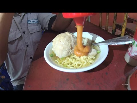 Jakarta Street Food 1126 Part.1 Jupe Meatball By Kangen Bakso JuPe  JumBo Pedas 5913