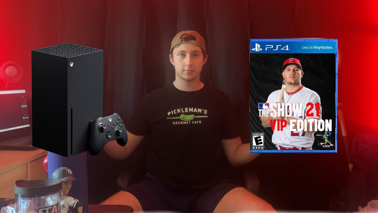 Why I'm Getting MLB The Show 21 on Xbox Series X..(ft.NEW MERCH)