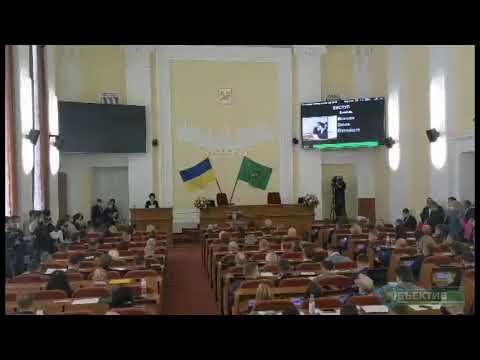 Телеканал Simon: Началась первая сессия 8 созыва городского совета