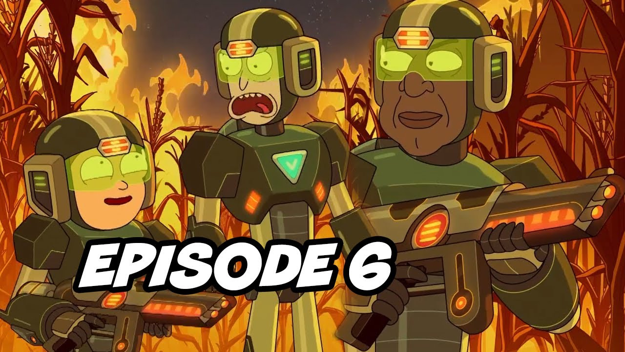 Rick and Morty Season 5 Episode 6 TOP 10 Breakdown, Easter Eggs and Things You Missed