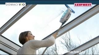 LEIFHEIT WINDOW CLEANER (vysavač na okna)(Revoluční technologie mytí oken bez leštění. - mytí a leštění oknen beze skvrn - vákuové odsátí zbytkové vody ze skel - gumová stěrka zajistí perfektní setření ..., 2013-11-29T14:03:00.000Z)