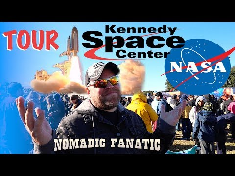 NASA SpaceX Falcon 9 Rocket Launch ~ Kennedy Space Center Tour