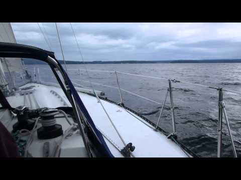 Sailing from Telegraph Harbour to Dodd Narrows