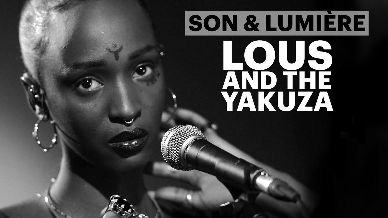 Lous and the Yakuza en session privée au Studio Harcourt