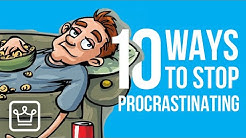 10 Ways to STOP Procrastinating