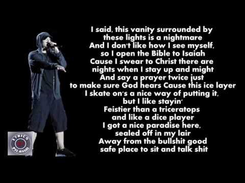 Eminem - Fine Line (Lyrics)