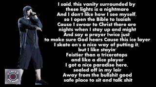 Eminem - Fine Line (Lyrics)