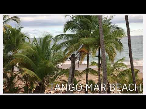 Beach relax video from Costa Rica, Tango Mar Beach