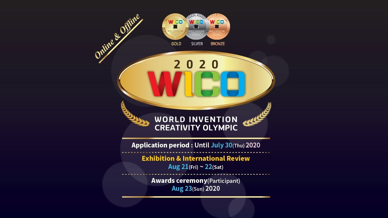 2020 WICO Information [Aug 21 ~ 23, 2020]