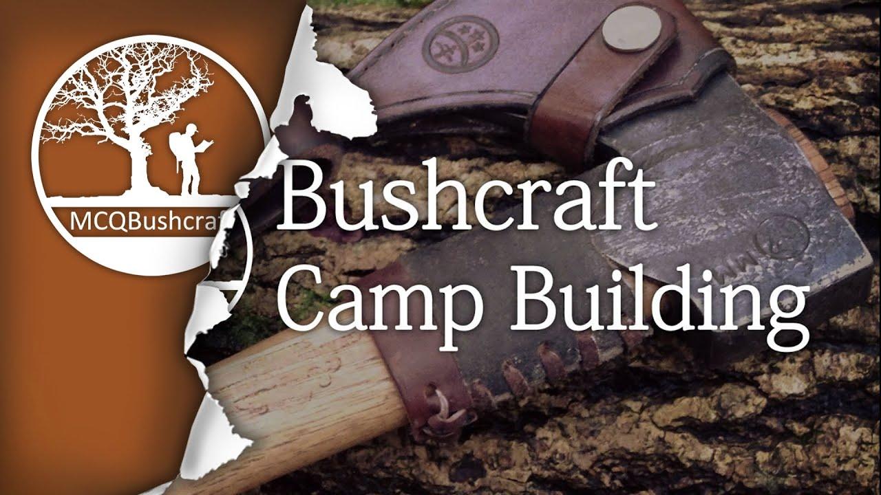 Watch 5 Outdoorsmen Build Bushcraft Super Shelters