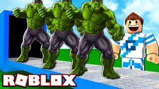 FÁBRICA DO HULK NO ROBLOX! (Super Hero Tycoon)