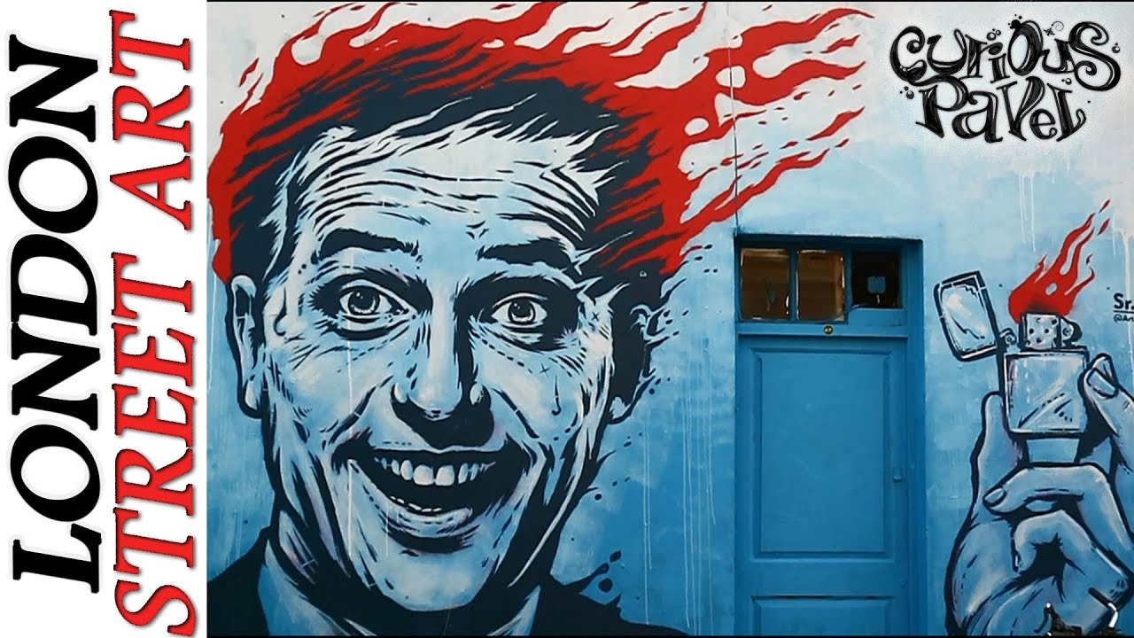 Where To Find Street Art In London Difference W Graffiti Youtube