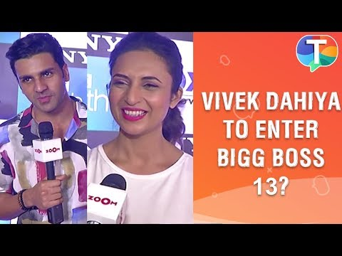 Divyanka Tripathi \u0026 Vivek Dahiya REACT on rumours of Vivek entering Bigg Boss 13 | Exclusive