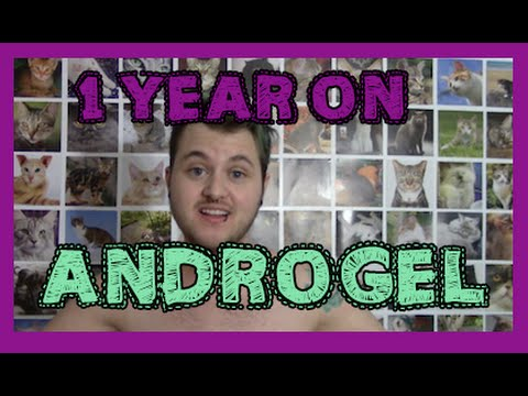 1 year on androgel.