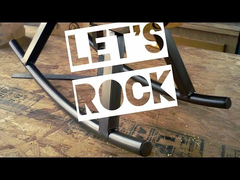 Let's Rock - Bending Metal Rockers For Furniture