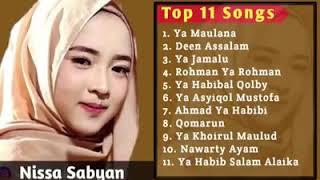 Full Album Sholawat Qosidah Nabi Muhammad Saw - Nissa Sabyan MP3