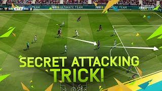 FIFA 16 SECRET ATTACKING TRICK - TUTORIAL / MOST EFFECTIVE ATTACKING MOVES - THE PASSING GLITCH