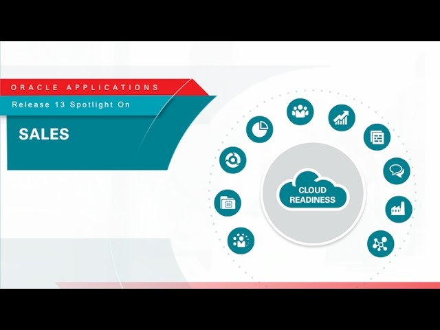 Oracle Applications Release 13 Spotlight on Sales