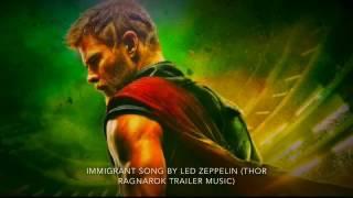 Immigrant Song By Led Zeppelin (Thor Ragnarok Trailer Music)