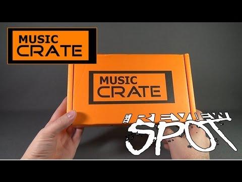 Subscription Spot - Music Crate June 2016 Subscription Box UNBOXING!