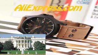 """Распаковка. Мужские наручные часы """"SOKI S186"""" на AliExpress. Обзор."""