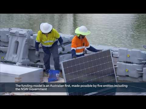 Knowledge Sharing Initiative: Lismore Floating Solar Farm