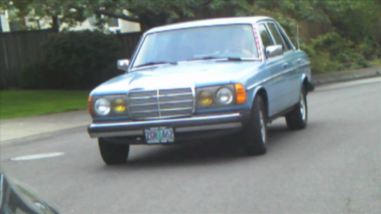 Mercedes 240d for sale youtube for Mercedes benz 240d for sale