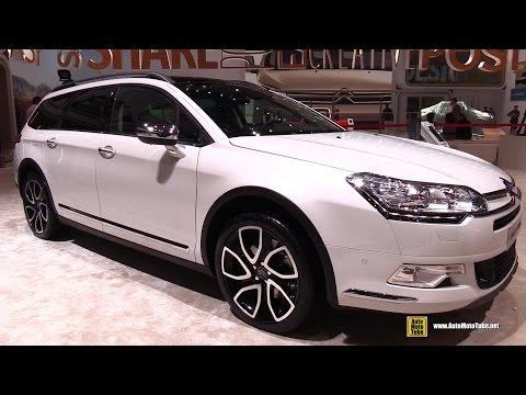 2016 Citroen C5 Tourer - Exterior and Interior Walkaround - 2016 Geneva Motor Show