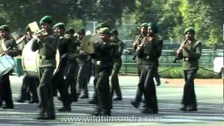 Grand march past by Indian Army on Republic day