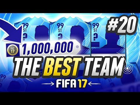 THE BEST TEAM IN FIFA! #20 [1,000,000 COIN TEAM] - #FIFA17 Ultimate Team