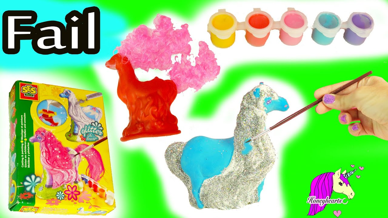 Big fail make your own mold paint fantasy horses glitter hair big fail make your own mold paint fantasy horses glitter hair do it yourself craft video youtube solutioingenieria Image collections