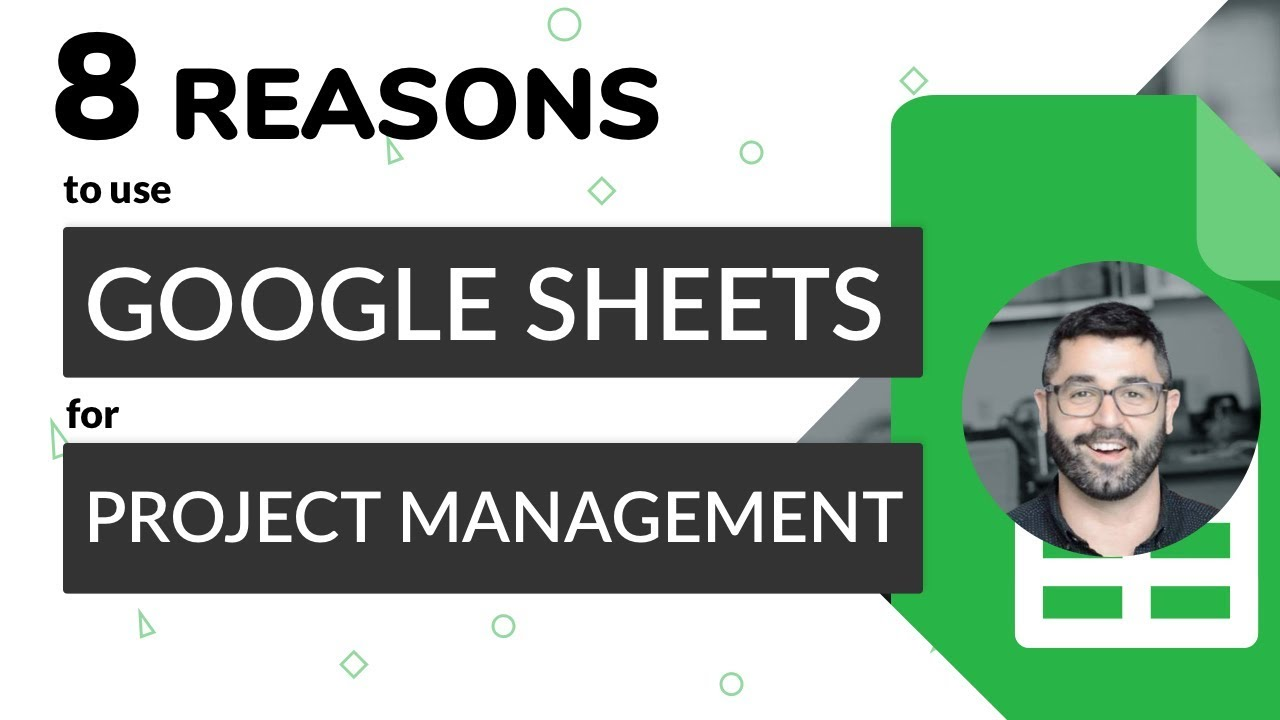 8 Reasons to Use OUR Google Sheets Project Management Tool