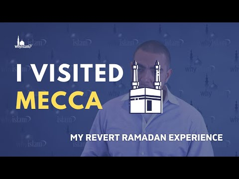 """""""7 Months After Accepting Islam, I Visited Mecca..."""" - My Revert Ramadan Experience (Repost)"""
