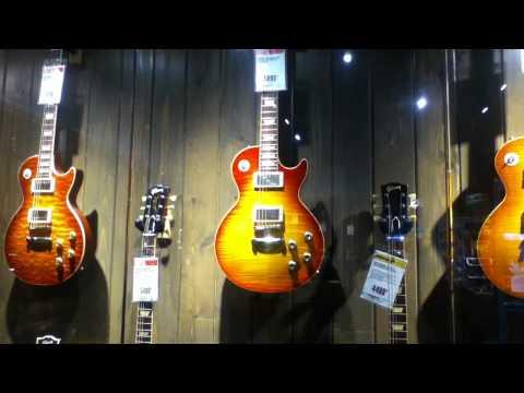 at Guitar Center Houston
