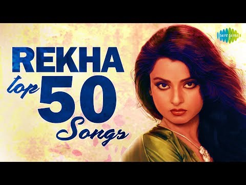 Top 50 Songs of Rekha | रेखा के 50 गाने | HD Songs | One Stop Jukebox