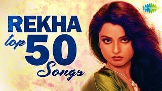 Top 50 Songs Of Rekha , रेखा के 50 गाने , HD Songs , One Stop Jukebox
