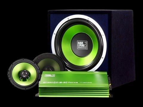 Raveland Green Force I Car-HiFi-Set
