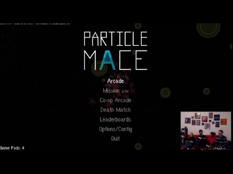 Particle Mace | Sling Garbage in Space at Your Friends