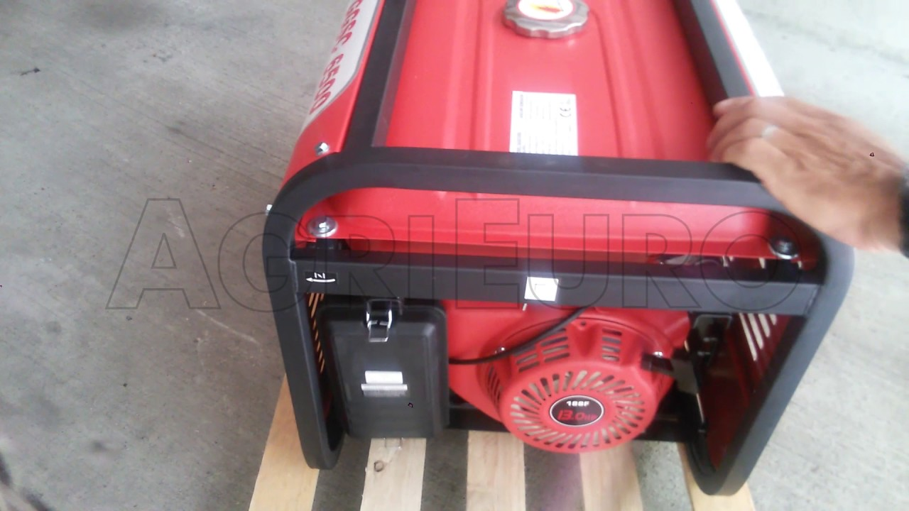 Avvio e funzionamento del generatore di corrente 5 0 kw for Geotech generatori
