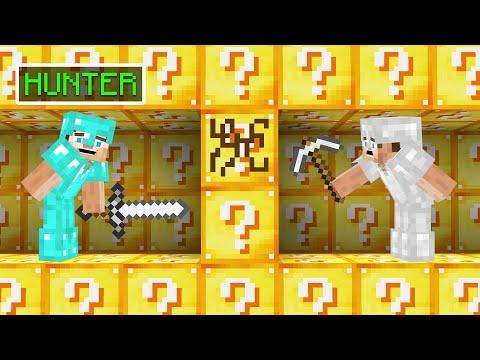 LUCKY BLOCK HUNTERS vs SPEEDRUNNER! (Minecraft) - Slogo