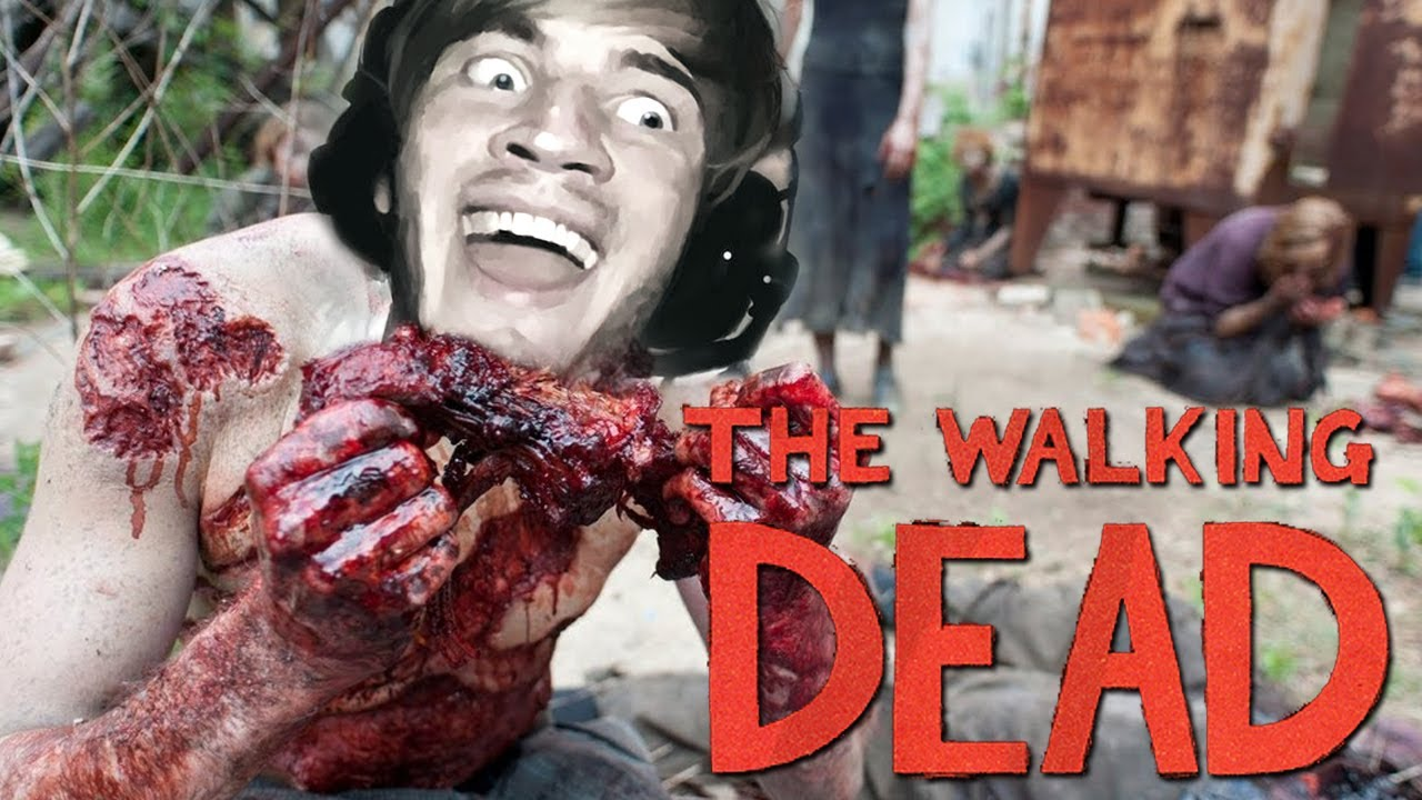 The Walking Dead Pewdiepie Don T Eat The Food