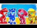 PAW Patrol as Ironman Fun Coloring Pages |  Learn Colors Learning Videos for Toddlers