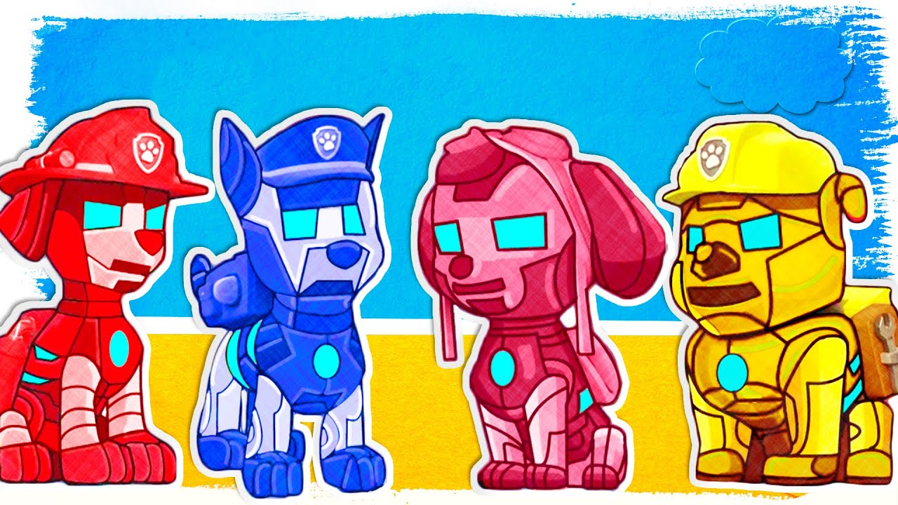 Paw Patrol As Ironman Fun Coloring Pages Fun Learning