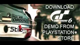 Начальный трейлер к игре Gran Turismo 6 Demo для PS3